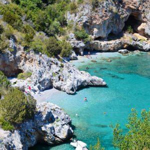 the bay of Infreschi, marina di camerota