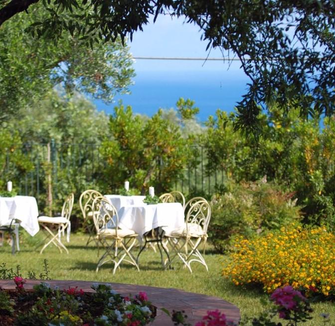 Cena romantica dell'Hotel Santa Rosalia